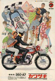 1967 kawasaki ad