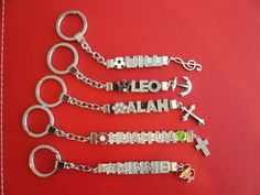 Personalised beautiful and blink crystal key ring key by mykeyring, $10.00