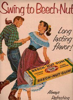vintage western swing dancing 1952 advertisement