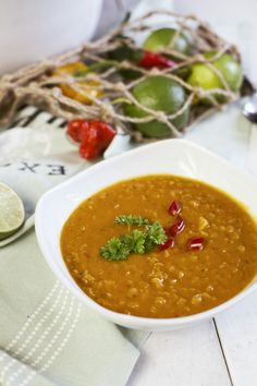 St[v]ory z kuchyne | Soup from Red Lentils and Coconut Milk