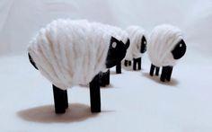 Ovečka - jarná dekorácia pre deti, Všetko ostatné, fotopostup - Artmama.sk Cow, Animals, Creative, Animais, Animales, Animaux, Cattle, Animal, Stuffing