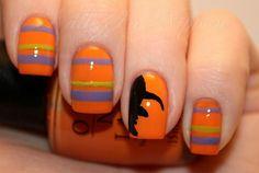 Imagem de nails, Halloween, and nail art