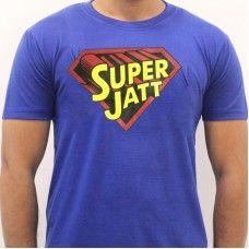SUPER JATT PUNJABI T SHIRT