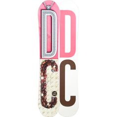 DC Ply Snowboard - Women's -- What more could a girl want? ;)