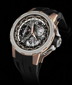 #Richard Mille RM 55-01 World Timer. (Proceeds of the watch go to charity)
