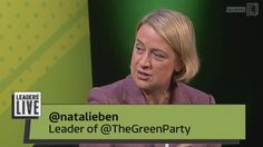 Green Party - Leaders Live [Full Episode]