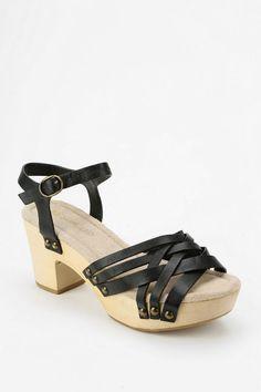 Restricted Cate Wooden Platform Sandal. always wanting more wooden sandals