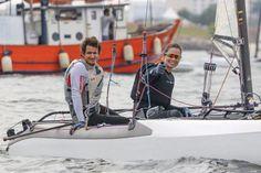 Samuel Albrecht e Isabel Swan forma a dupla olímpica do Brasil na Nacra 17. Foto Divulgação/VDS