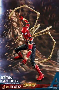 Marvel Iron Spider Sixth Scale Figure by Hot Toys | Sideshow Collectibles