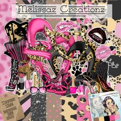 February 2015  Fantastically Free Blog Train!:  Melissaz Creationz... Victoria Fox Inspired.