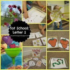 School Time Snippets: Tot School: Letter S Letter S Activities, Toddler Activities, Fun Activities, Tot Trays, Printable Puzzles, Tot School, Sensory Bins, Teaching Reading, Early Learning