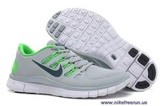 best sneakers 7c8a5 573ec Mens Nike Free 5.0 Wolf Grey Midnight Turquoise Pine Green Running Shoes  Sale Nike Revolution 3