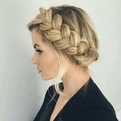 Waiting for my hair to get long enough to do this!!!