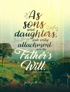 As Sons and Daughters our only attachment is to the Father's Will. ~ Pastor Apollo C. Quiboloy, Appointed Son of God Son Of God, Father And Son, Spiritual Enlightenment, Spirituality, Daughters, Sons, Revolutionaries, Facebook Sign Up, Apollo