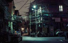 """Shanghai Nights"" by photographer Nicolas Jandrain • Design Father"