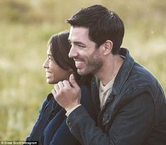 Looking forward:Drew Scott of HGTV's Property Brothers, 38, and his girlfriend Linda Phan, 31, got engaged in Toronto Tuesday