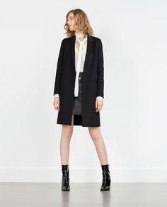 HAND MADE COAT-View All-OUTERWEAR-WOMAN | ZARA United States