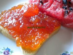 {Ricette bimby} :: Marmellata di Scorza Bianca di Cocomero Rosso alla Vaniglia