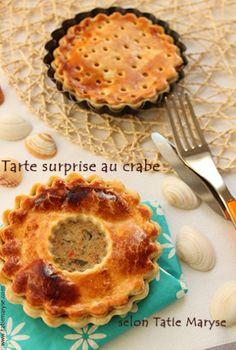 tarte au crabe