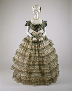 Historical fashion and costume design. Victorian Gown, Victorian Fashion, Vintage Fashion, Victorian Gothic, Gothic Lolita, Antique Clothing, Historical Clothing, Historical Dress, Vintage Gowns