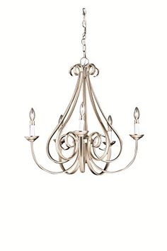 Kichler 2021NI Dover 5 Light Chandelier Brushed Nickel *** You can get more details by clicking on the image. (Note:Amazon affiliate link)