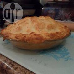 Recipe photo: Really easy gluten free traditional apple pie