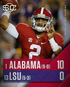 Alabama vs LSU