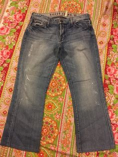 Guess Jeans Men's Nodele Distress Button Fly Jeans 100 Cotton Size 34 | eBay