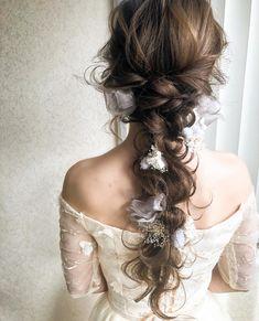 Bride Hairstyles, Cute Hairstyles, Hair Arrange, Hair Hacks, Bridal Hair, Hair Cuts, Marriage, Dreadlocks, Long Hair Styles