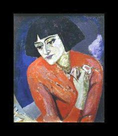 Blanchard, Maria (1881-1932) - Self-Portrait