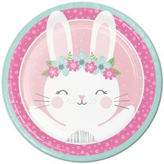 Shop for Some Bunny Party Supplies! Find pink bunny birthday decorations, party favors, pink bunny party ideas, and more. Bunny Birthday, 1st Birthday Parties, Girl Birthday, Birthday Dinners, Themed Parties, Special Birthday, Bunny Party, Easter Party, Thema Deco