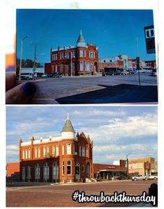 Main Street Seneca Kansas 2004 Vs 2017 Throwback Thursday America