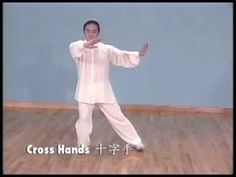 Tai Chi 24 form moves in Chinese, Pinyin, English & 4 other languages