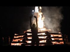 """A journey into the experience of the Pagan Festival Bonfire, featuring the musical piece """"Zulu Dawn"""" by the Dragon Ritual Drummers"""