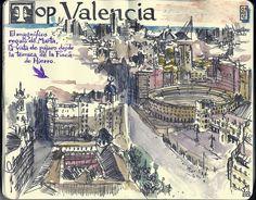 de vuelta con el cuaderno: Cuaderno Muaré (13. Valencia en un Bloc Penat) Top Valencia