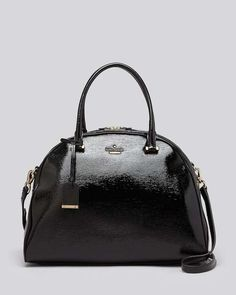Bloomingdales | kate spade new york Satchel - Cedar Street Patent Pearl #bloomingdales #katespade #bag