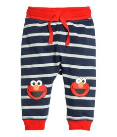 3854abaa164 Dark blue Sesame Street. Pants in soft