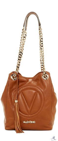 Valentino By Mario Valentino Bona Genuine Leather Shoulder Bag