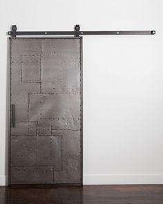 Mountain Scrap Metal Door + Hardware