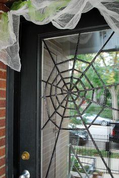 DIY Tutorial: DIY Halloween / DIY Subtle Spiderwebs - Bead&Cord