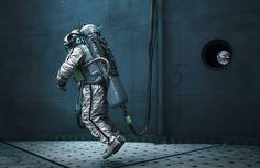 """Michael Najjar sera le premier artiste à voyager dans l'espace. Découvrez sa série """"Outer Space"""" qui retrace depuis 2011 sa préparation d'astronaute-photographe."""