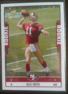 Alex Smith 2005 Score Rookie RC Utah Kansas City Chiefs | eBay