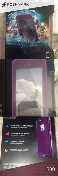Fre Lifeproof 6/6s iPhone case purple Brand new never opened lfieproof purple case originally 45$ LifeProof Other