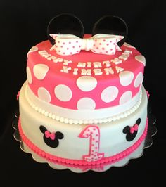 ~Minnie Mouse cake~