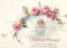 Vintage Ephemera, Vintage Cards, Vintage Images, Vintage Scrapbook, Mini Scrapbook Albums, Printable Designs, Free Printable, Antique Roses, Decoupage Paper