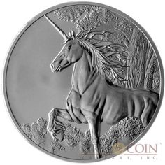 Tokelau Unicorn $5 Creatures of Myth & Legend Silver Coin Year of the Horse…