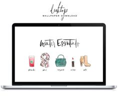 As you can tell I was inspired by my Holiday watercolor illustrations for this months free desktop wallpaper! Head over to Lark + Linen to grab one for yourself (and you phone :)