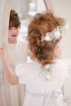 Casamento Vestido e Penteado Daminha (Foto: Larissa Felsen)