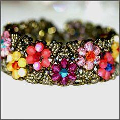 Gemstone Garden Crystal Bracelet