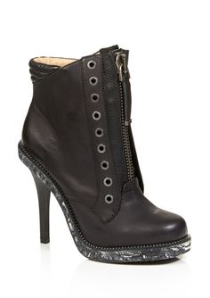 L.A.M.B. Dayton Booties in Black